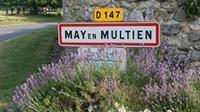 Panneau d'entrée de May-en-Multien